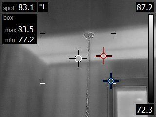 Can Infrared Cameras See Through Walls?